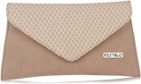 Fostelo Women Beige PU Sling Bag
