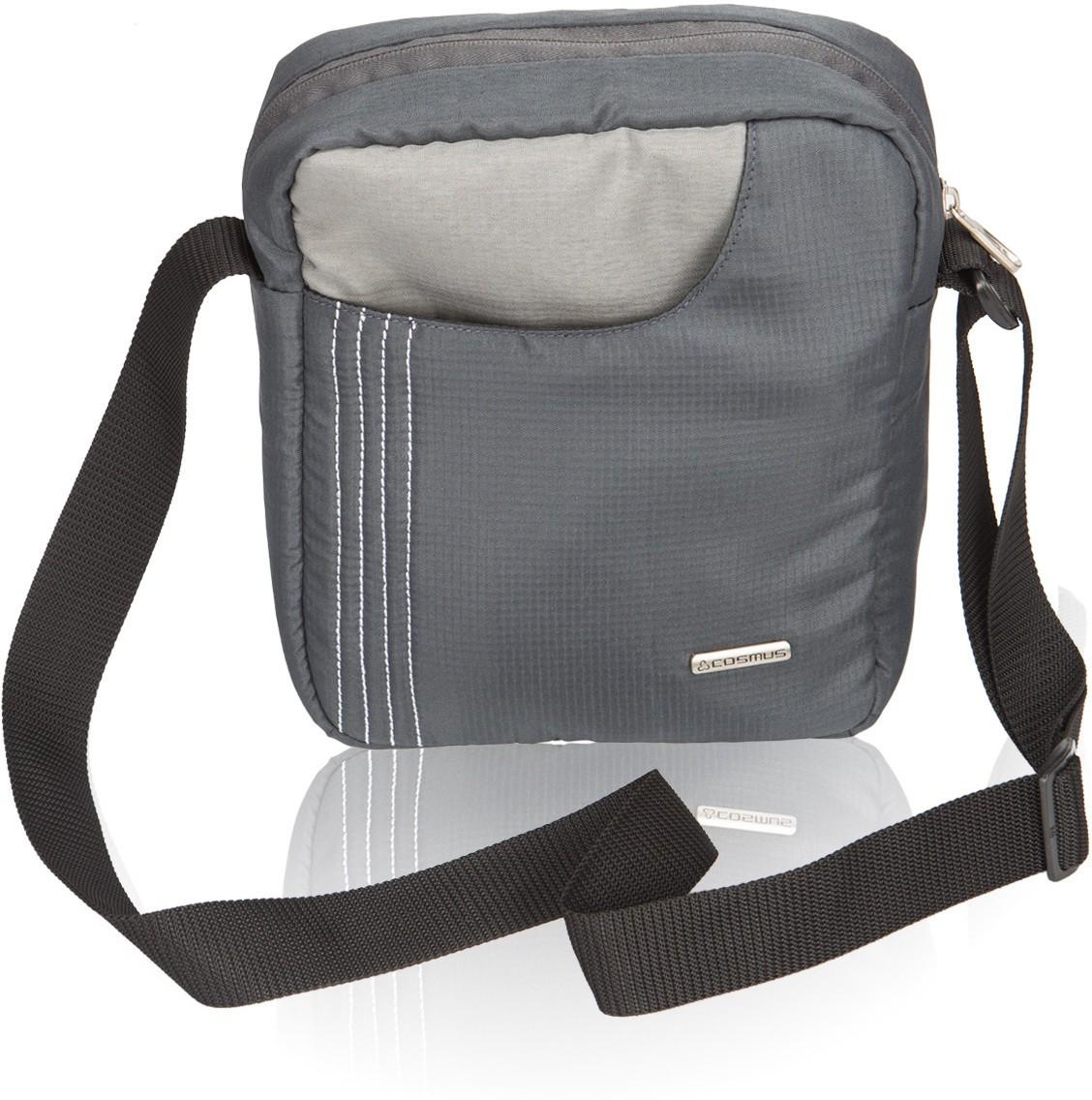 Sling bag below 500 - Cosmus Men Boys Grey Polyester Sling Bag