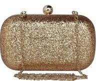 ToniQ Girls Gold PU Sling Bag