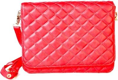 Celladorr Girls Red PU Sling Bag