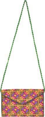 Stylathon Women Multicolor Cotton Sling Bag