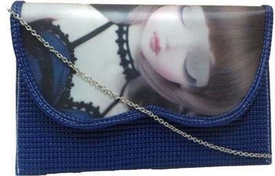 Berries Girls, Women Blue PU Sling Bag