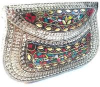 Nakkashee Women, Girls Multicolor Metal Sling Bag