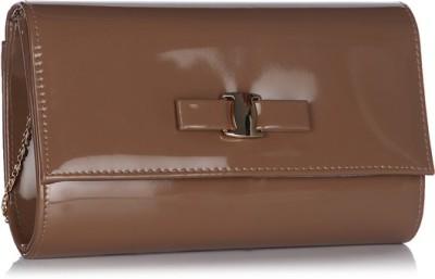 ToniQ Girls, Women Brown Polyester Sling Bag
