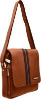 JFL - Jewellery for Less Women Brown Genuine Leather Sling Bag