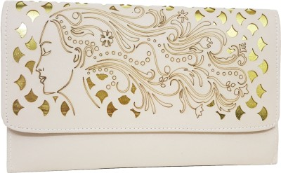 RaviCollections Women White Leatherette Sling Bag