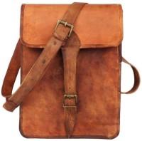 Pranjals House Boys & Girls Brown Genuine Leather Sling Bag