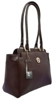 JFL - Jewellery for Less Girls Brown Genuine Leather Shoulder Bag