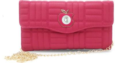 Online Keeda Girls Pink Cotton Sling Bag