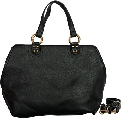 Parv Collections Women Black PU Sling Bag