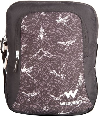 Wildcraft Men, Women Black Polyester Sling Bag