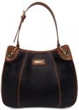 Cascara Women Black Genuine Leather Hobo