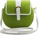 Voaka Women Green PU Sling Bag