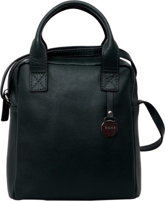 Hunt Women Formal, Casual Black Genuine Leather Sling Bag