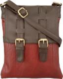 Toteteca Bag Works Women Red, Brown PU S...