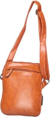 iva Women, Girls Brown Leatherette Sling Bag