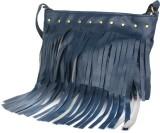 Armadio Women Blue Leatherette Sling Bag