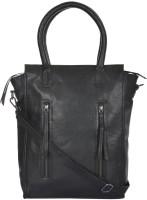 UR CLASS Women Black Genuine Leather Sling Bag
