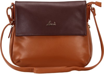 Lavie Women Tan PU Sling Bag