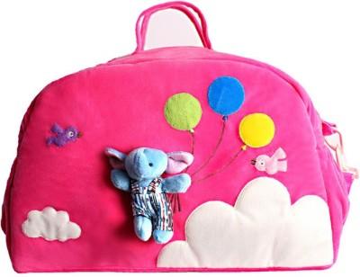 KIDZVILLA Women Pink Cotton Sling Bag
