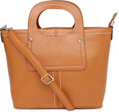 Mast & Harbour Women Tan PU Sling Bag