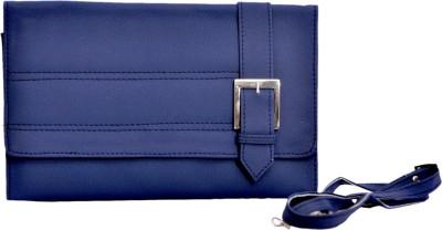 Pankhudi Women Blue PU Sling Bag