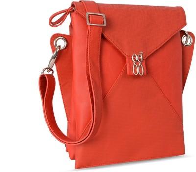 Baggit Girls, Women Red Rexine Sling Bag