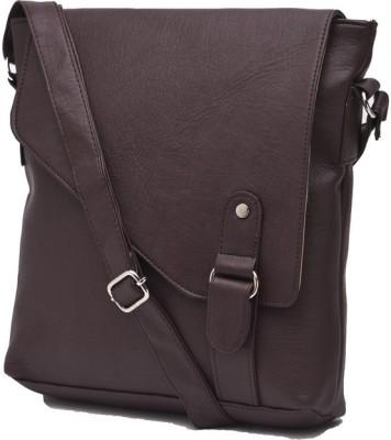 Igypsy Girls, Women, Men Tan Leatherette Sling Bag