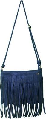 Glitter Glory Girls Blue PU Sling Bag