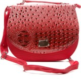 Styles n More Women Casual Red PU Sling ...