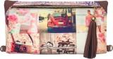 Bandbox Women Casual Pink Canvas Sling B...