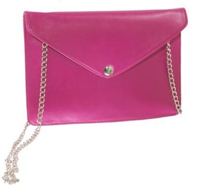 Ellye Girls Evening/Party Pink PU Sling Bag