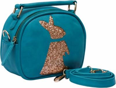 Clocharde Girls Blue PU Sling Bag