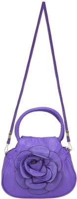 Bueva Women, Girls Purple Leatherette Sling Bag