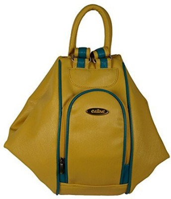 Clubb Girls, Women Yellow Leatherette Shoulder Bag