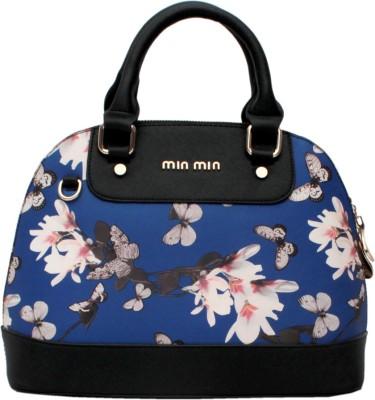 Ruff Women Blue PU Hand-held Bag