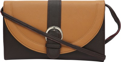 Felicita Girls, Women Brown PU Sling Bag