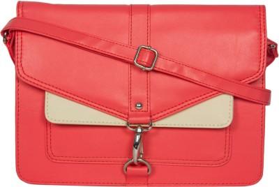 Adaira Girls Casual Pink PU Sling Bag