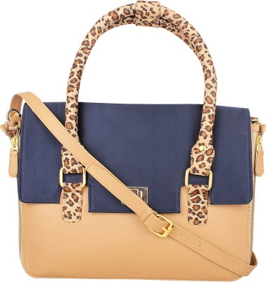 Zaera Women Brown PU Sling Bag