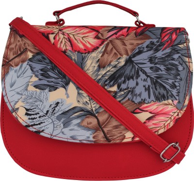 PST Girls, Women Red PU Sling Bag