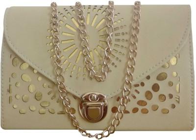 Goldeno Girls Gold PU Sling Bag