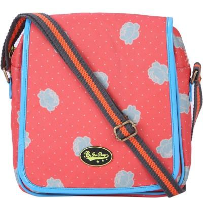 Be for Bag Women Orange Canvas Sling Bag
