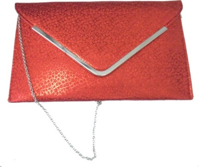 Ellye Girls Red Silicon Sling Bag