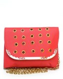 Fashion Knockout Women Red Leatherette S...