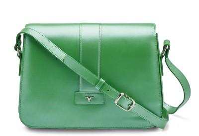 Bulchee Girls, Women Green Leatherette Sling Bag