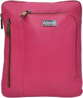 Adone Women Pink Genuine Leather Sling Bag