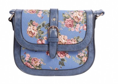 Celladorr Girls, Women Blue PU Sling Bag