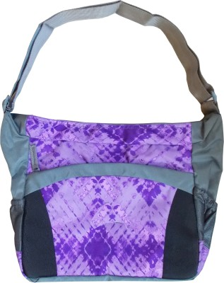 Majesty Boys, Girls Casual Purple Polyester Sling Bag