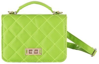 Aliza Women Formal Green PU Sling Bag