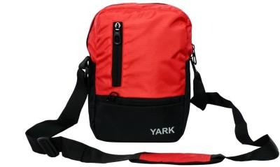 Yark Boys Red Nylon Sling Bag